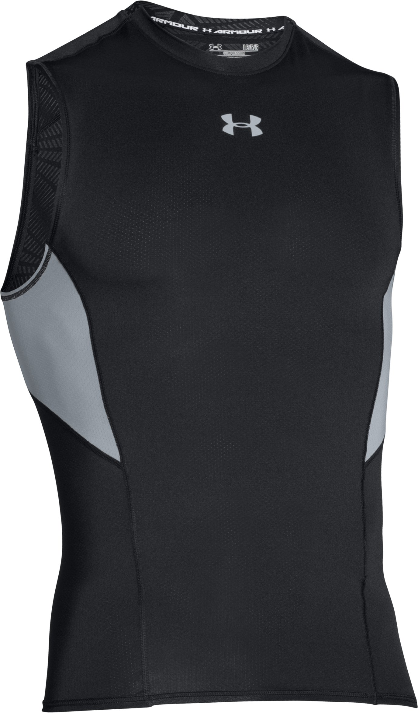 Men's UA CoolSwitch Sleeveless Compression Shirt, Black