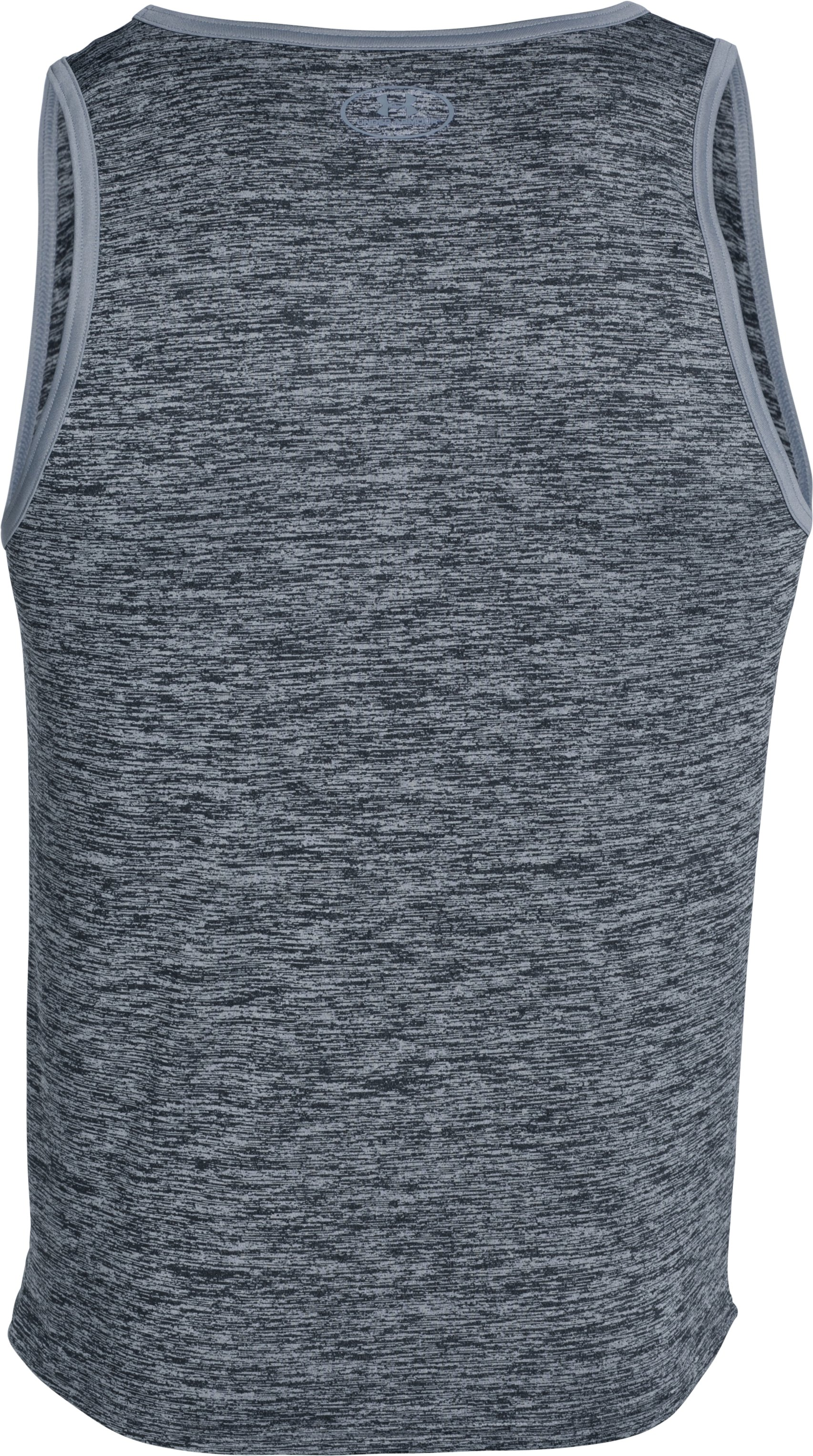 Men's UA Tech™ Graphic Tank, Black ,