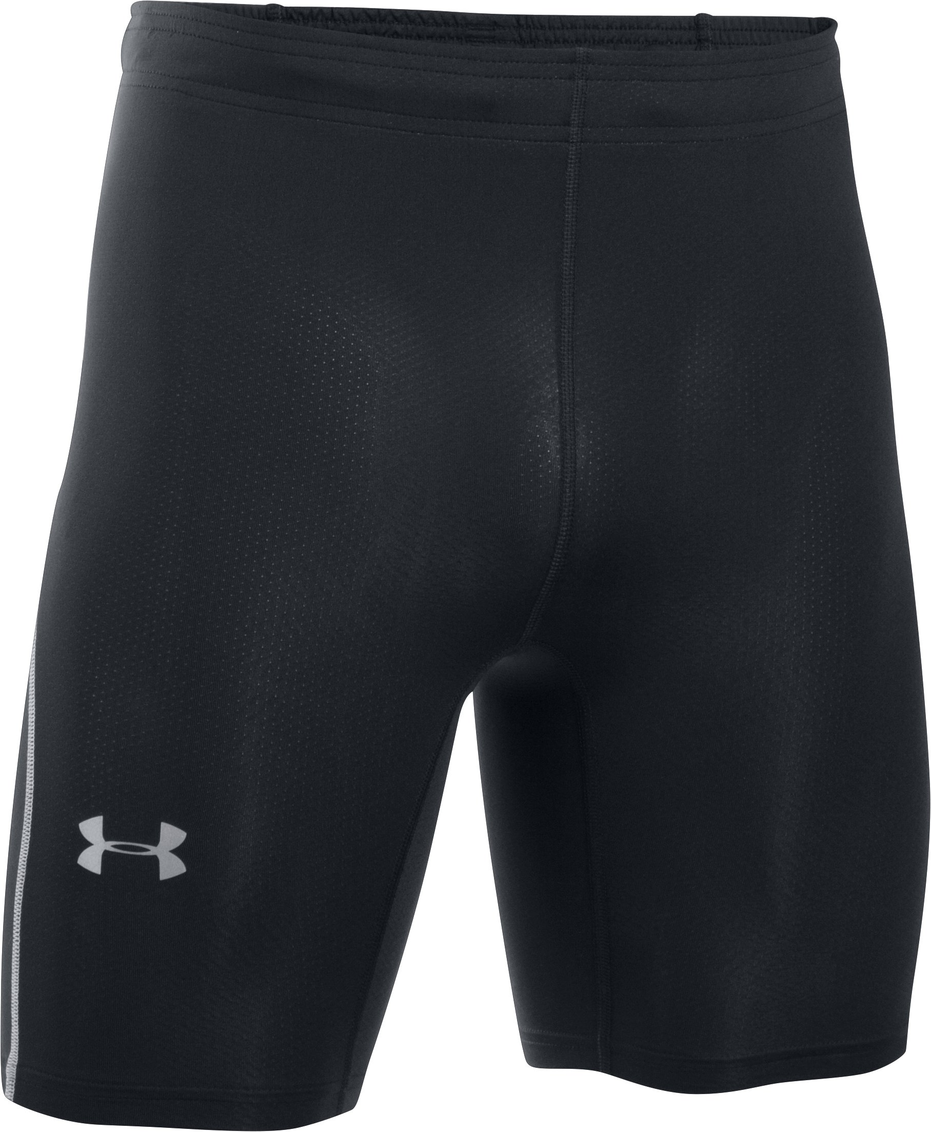 Men's UA CoolSwitch Run Compression Shorts, Black