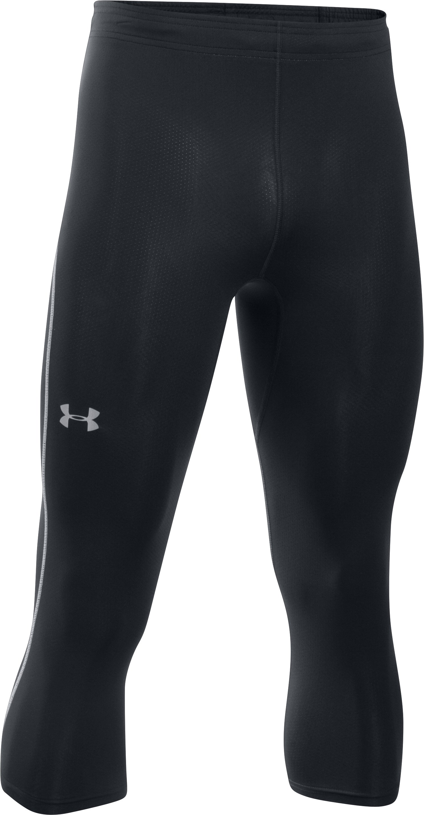 Men's UA CoolSwitch Run Compression ¾ Leggings, Black ,
