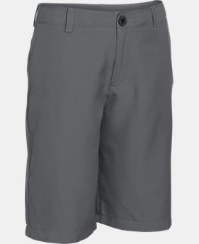 Boys' UA Medal Play Golf Shorts   1  Color Available $23.99 to $29.99