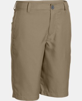 New to Outlet Boys' UA Medal Play Golf Shorts   1 Color $27.99