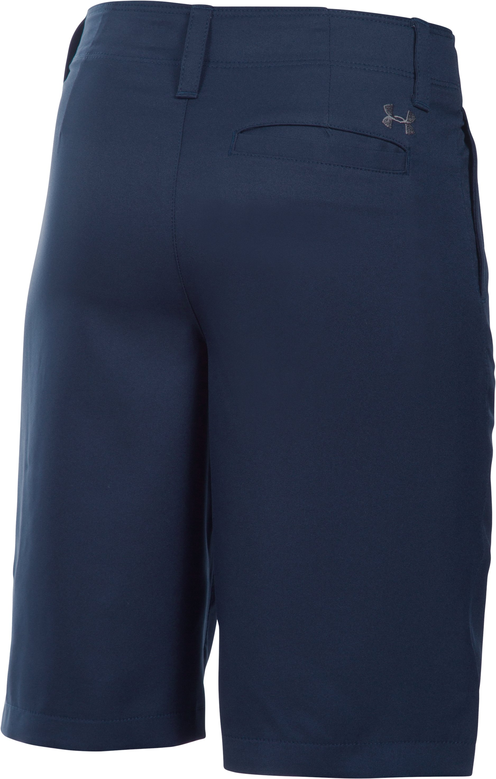 Boys' UA Medal Play Golf Shorts , Midnight Navy