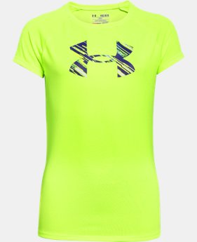 Girls' UA Big Logo T-Shirt LIMITED TIME: FREE SHIPPING 2 Colors $22.99