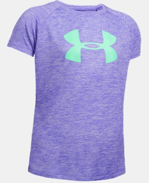 Girls' UA Novelty Big Logo T-Shirt LIMITED TIME: FREE U.S. SHIPPING 7 Colors $18.74