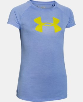Girls' UA Novelty Big Logo T-Shirt  1 Color $27.99