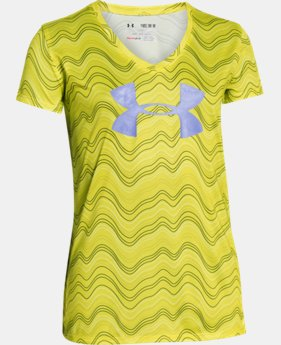 Girls' UA Novelty Big Logo T-Shirt  1 Color $18.99