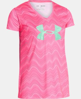 Girls' UA Novelty Big Logo T-Shirt  3 Colors $27.99