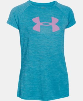 Girls' UA Novelty Big Logo T-Shirt   $18.99