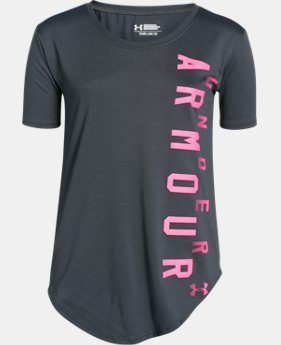 Best Seller Girls' UA Your Favorite Tech™ T-Shirt LIMITED TIME: FREE SHIPPING  $24.99