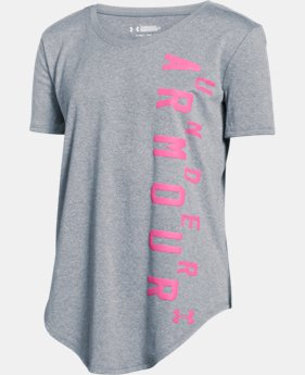 Girls' UA Your Favorite Tech™ T-Shirt LIMITED TIME: FREE SHIPPING 2 Colors $27.99