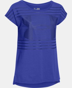 Best Seller Girls' UA Favorite Short Sleeve T-Shirt LIMITED TIME: FREE SHIPPING 1 Color $24.99