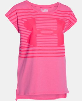 Best Seller Girls' UA Favorite Short Sleeve T-Shirt LIMITED TIME: FREE U.S. SHIPPING 1 Color $29.99