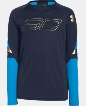 Boys' SC30 Heatseeker Shooting Shirt  1 Color $44.99