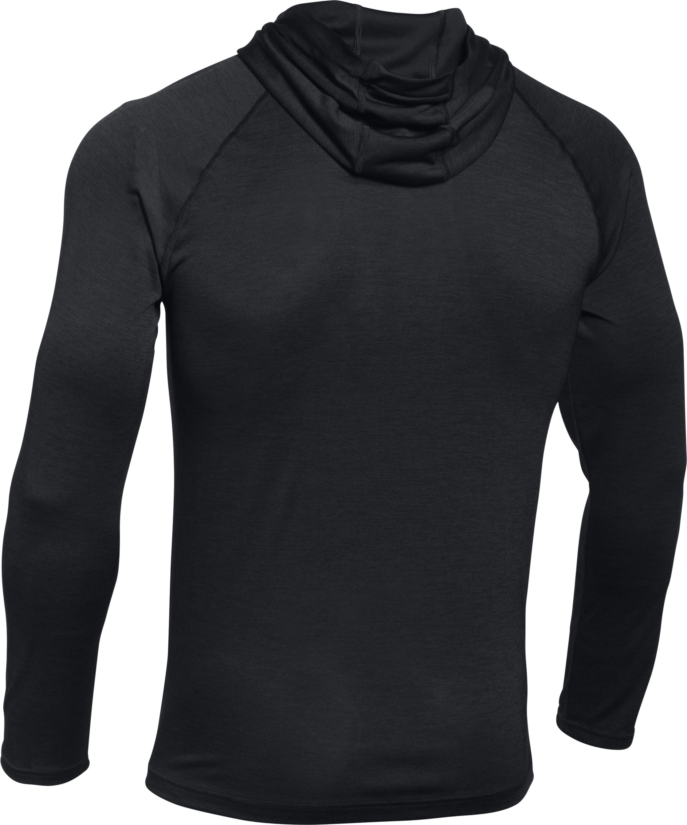 Men's UA Tech™ Popover Hoodie, Black ,