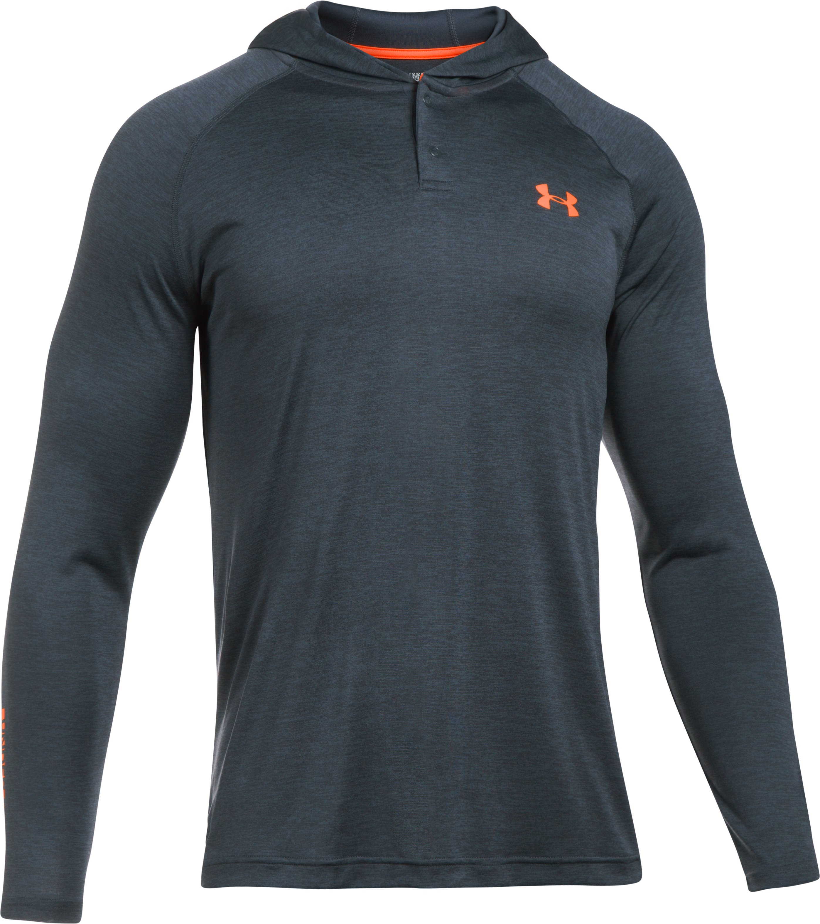 Men's UA Tech™ Popover Hoodie, STEALTH GRAY