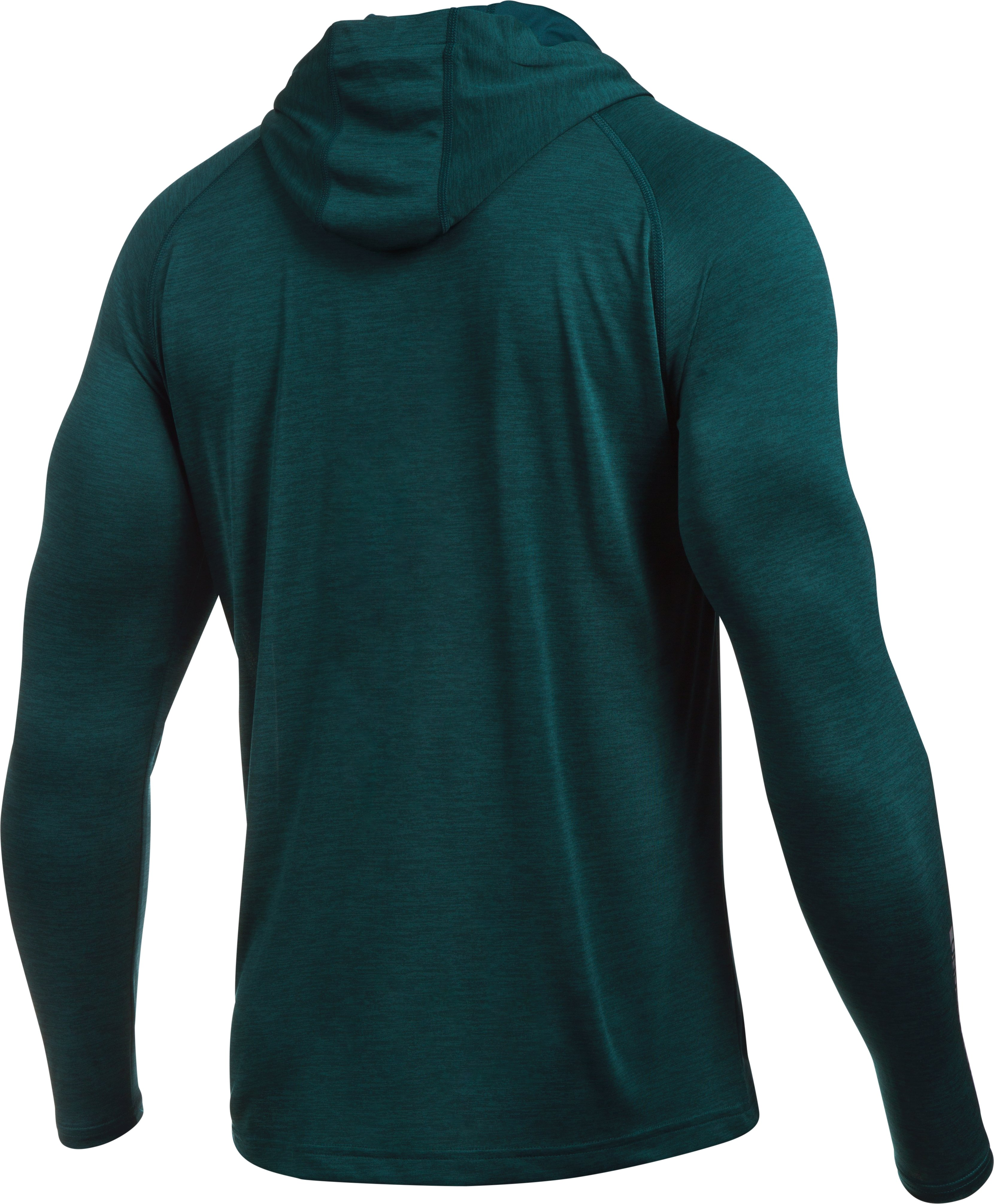 Men's UA Tech™ Popover Hoodie, ARDEN GREEN, undefined