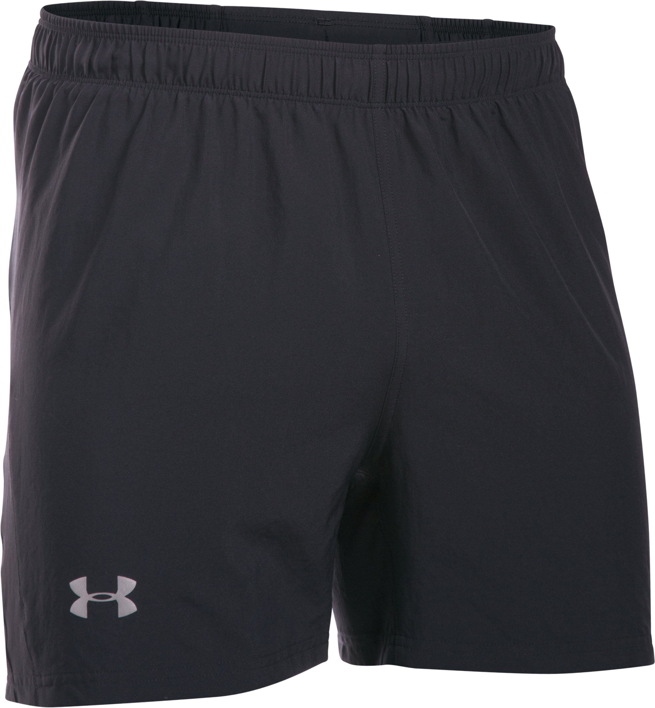 "Men's UA Launch 5"" Run Shorts, Black"