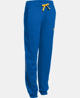 Boys' UA Commuter Tri-Blend Fleece Jogger Pants  1 Color $26.99 to $33.99