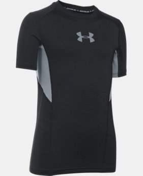 Boys' UA CoolSwitch Fitted Short Sleeve Shirt LIMITED TIME: FREE SHIPPING 2 Colors $29.99