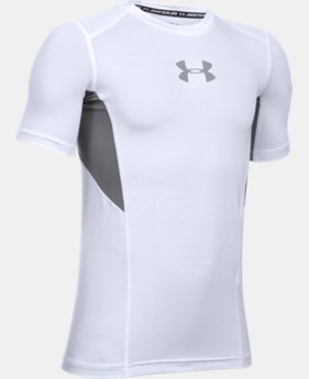 Boys' UA CoolSwitch Fitted Short Sleeve Shirt LIMITED TIME: FREE SHIPPING 1 Color $29.99