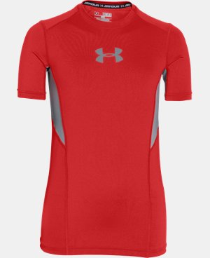 Boys' UA CoolSwitch Fitted Short Sleeve Shirt LIMITED TIME: FREE SHIPPING 5 Colors $22.99 to $26.99