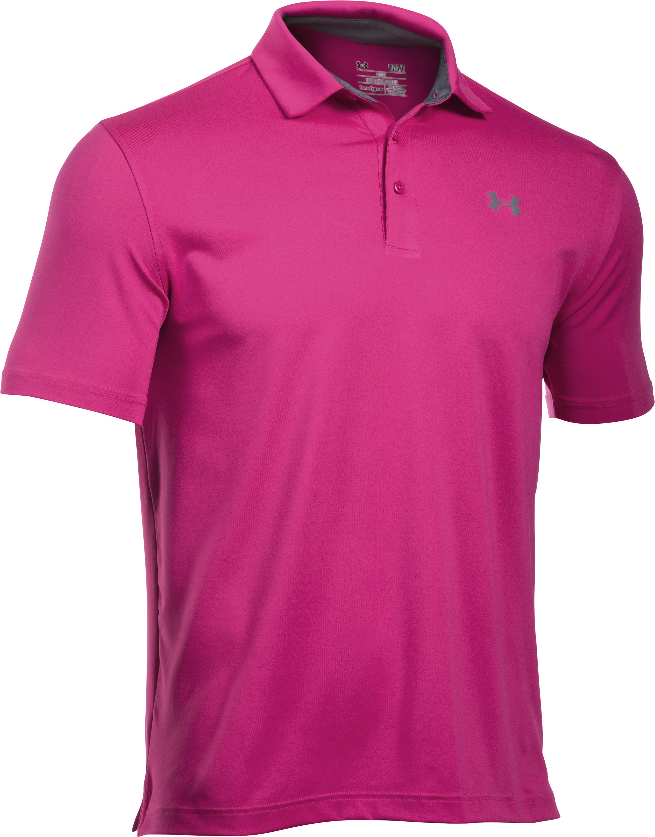 Men's UA Playoff Polo — Special Edition, Tropic Pink
