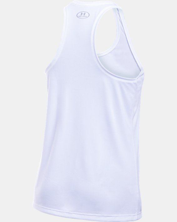Damen UA Tech™ Tanktop, White, pdpMainDesktop image number 8
