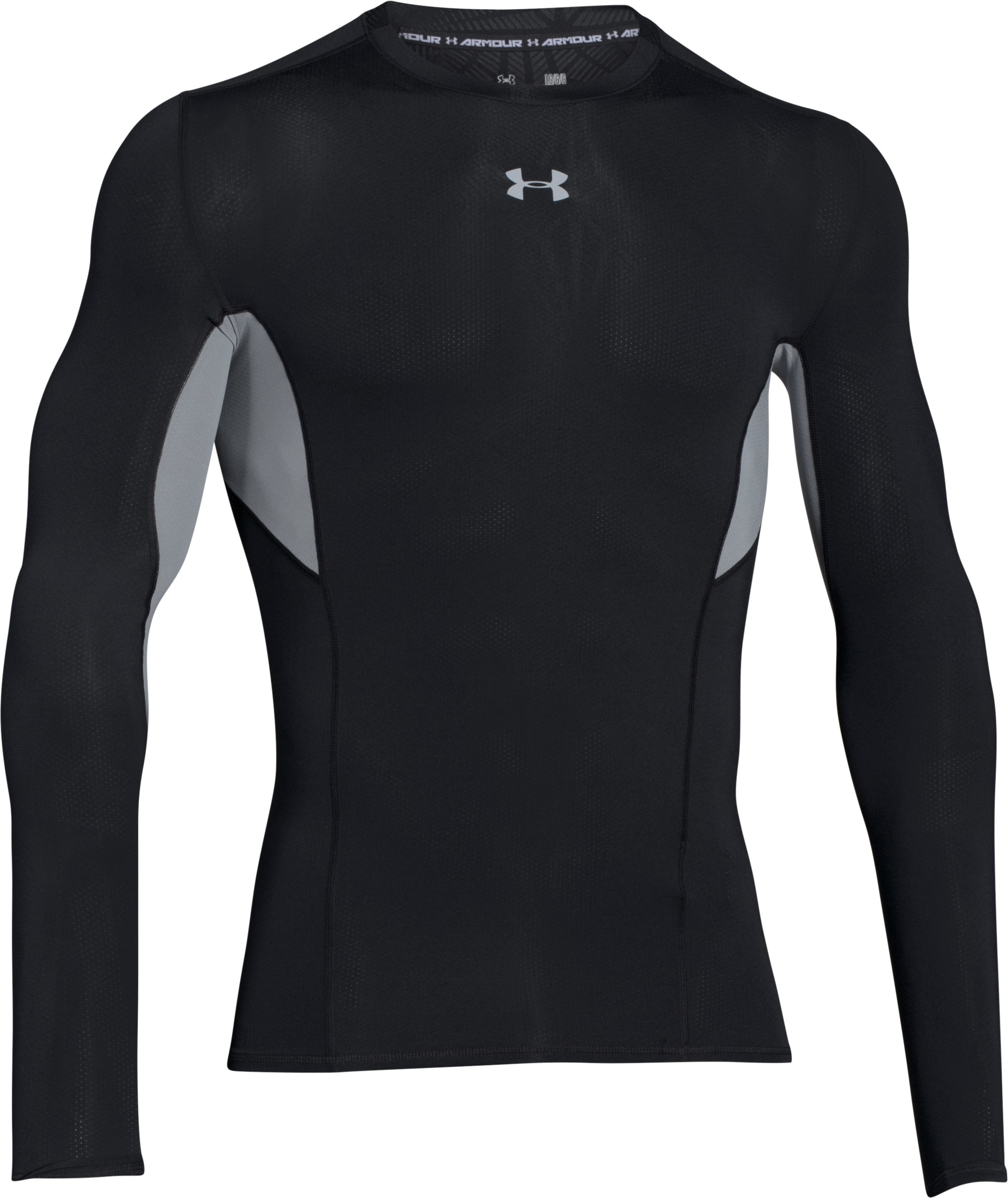 Men's UA CoolSwitch Long Sleeve Compression Shirt, Black , undefined