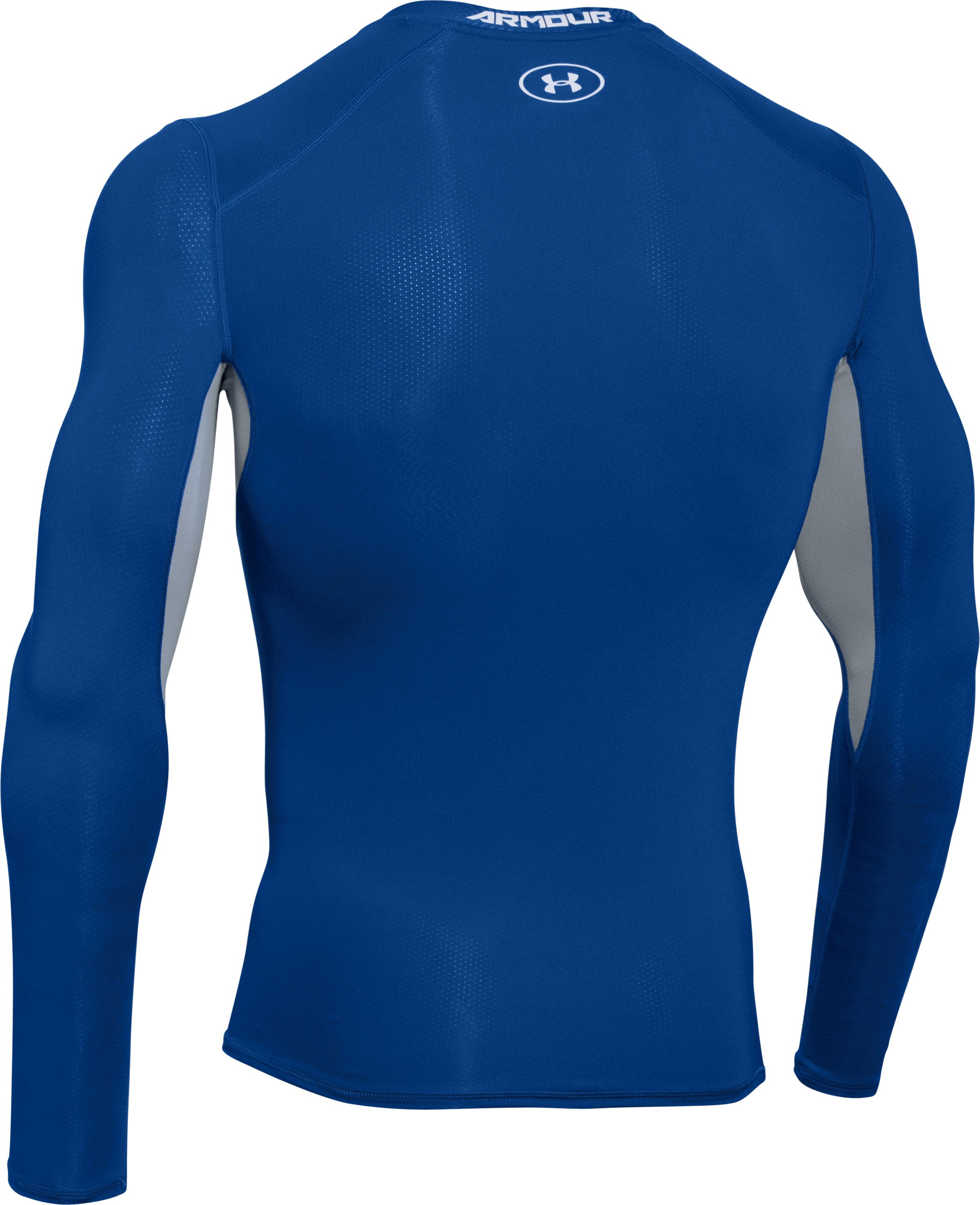 Men's UA CoolSwitch Long Sleeve Compression Shirt, Royal