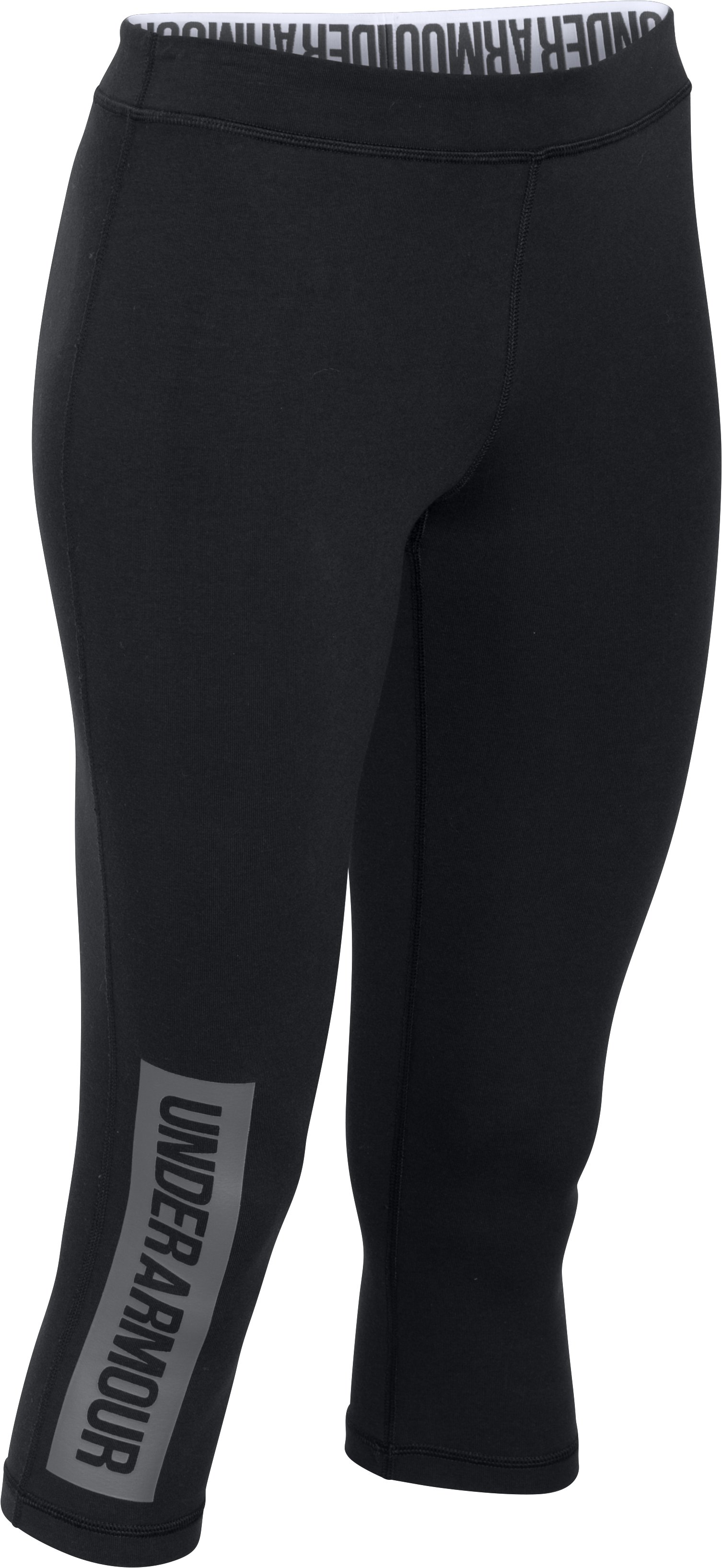 Women's UA Favorite Capris, Black