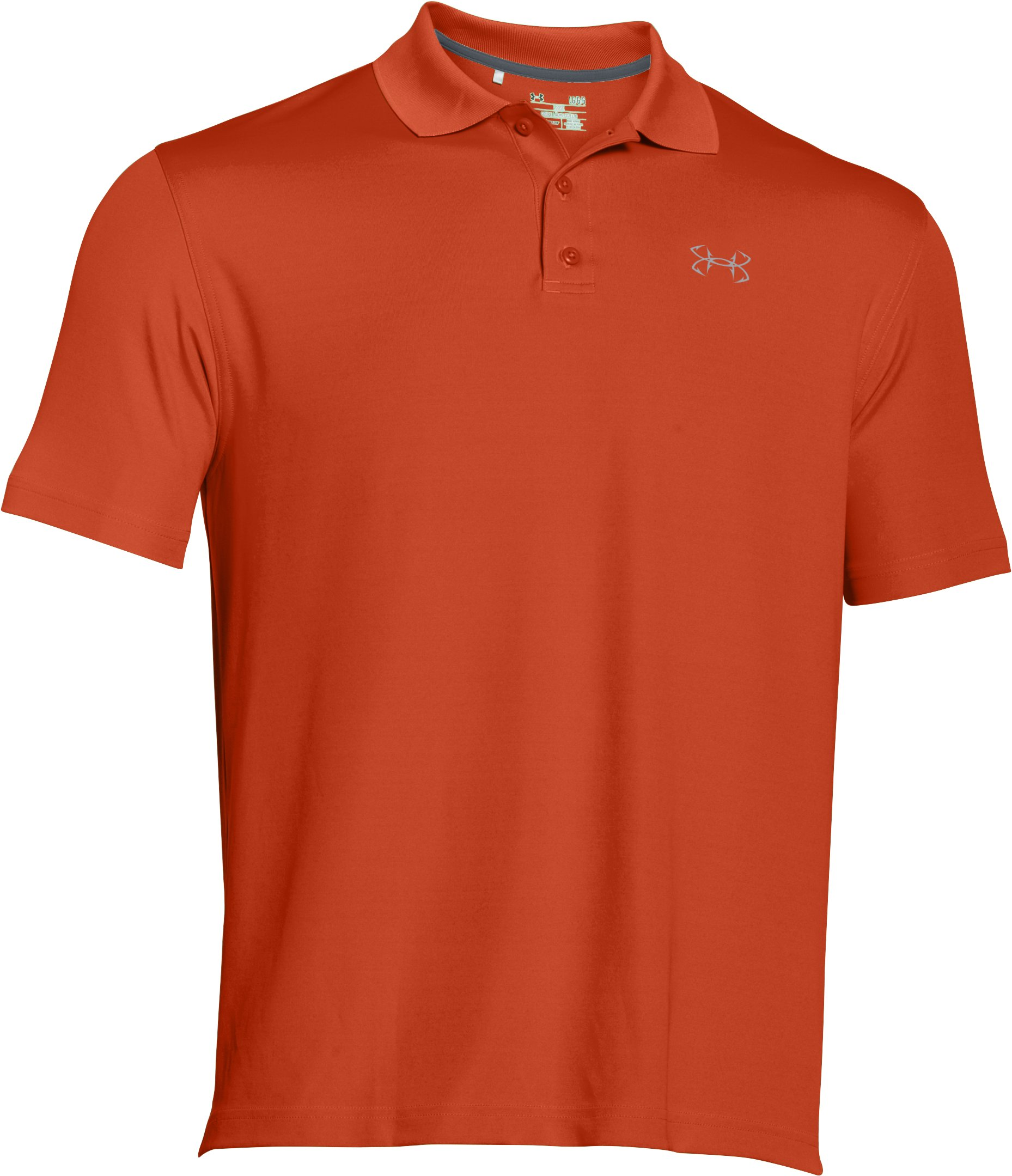 Men's UA Fish Hook Polo, VENISON, undefined