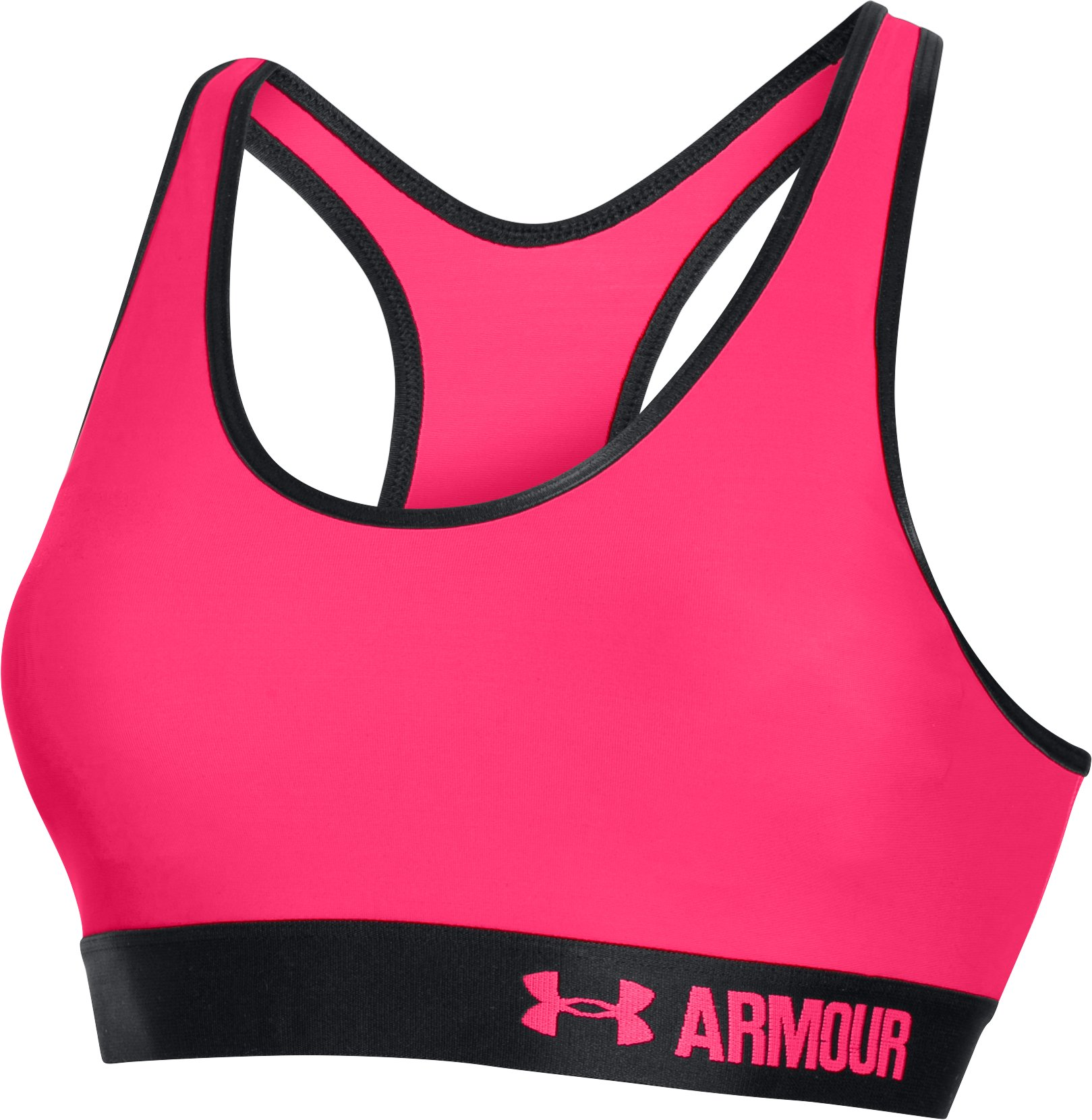 Women's Armour® Mid w/Cups, HARMONY RED