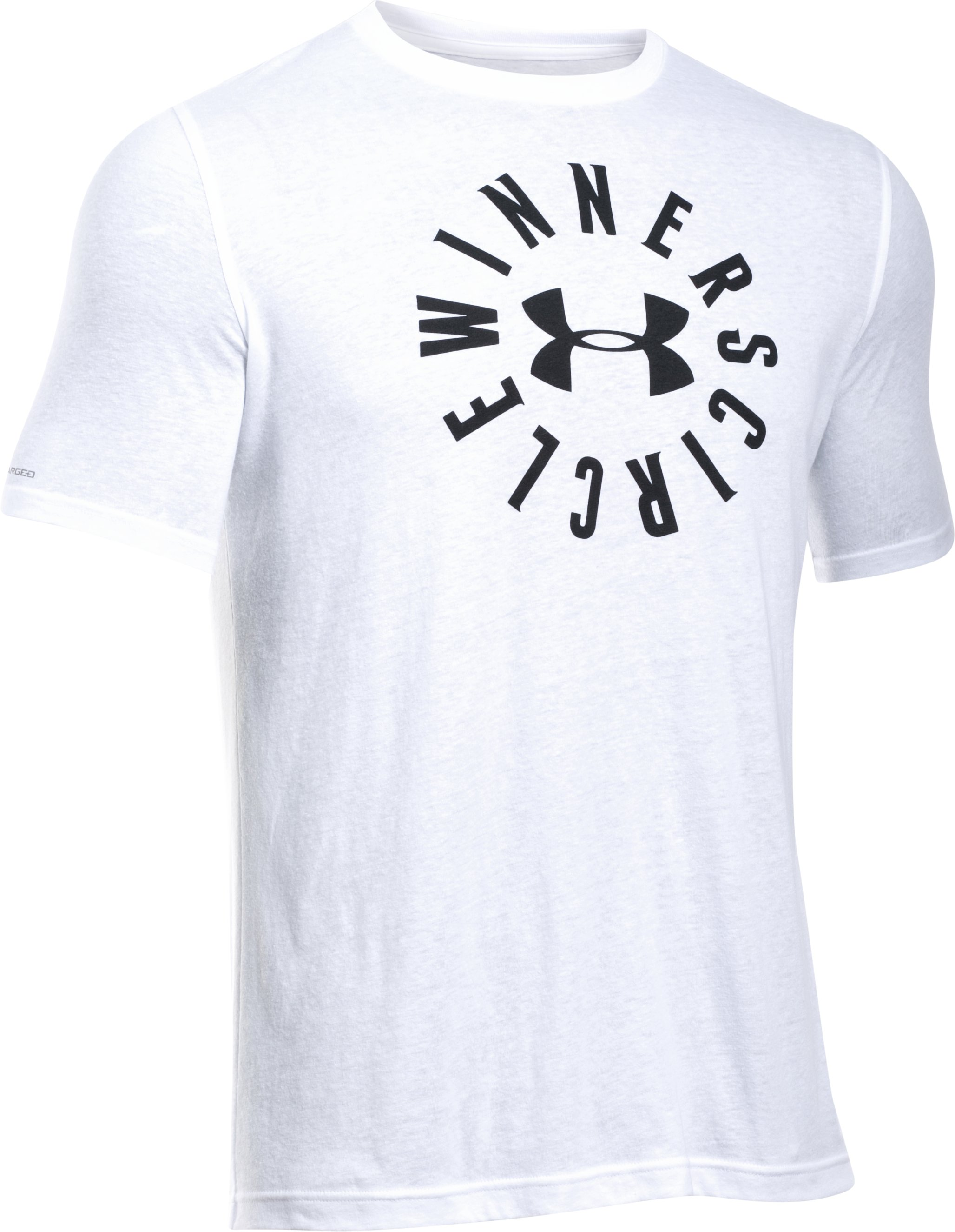Men's UA Winners Circle T-Shirt, White,