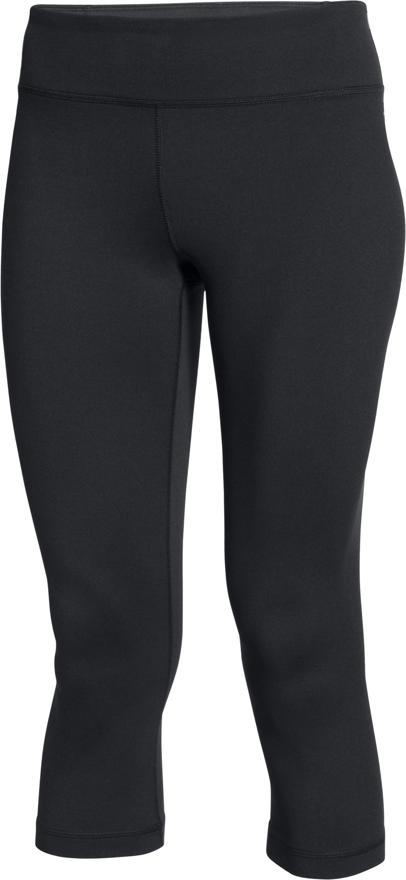 Women's UA Mirror Capri, Black