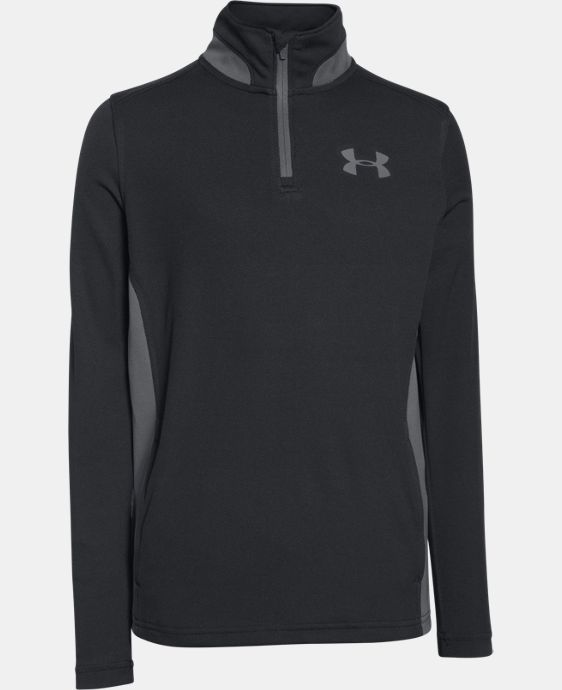 Boys' UA Fairway ¼ Zip LIMITED TIME: FREE SHIPPING 2 Colors $28.49 to $37.99