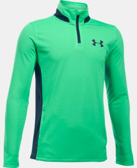 Boys' UA Fairway ¼ Zip  1 Color $24.99