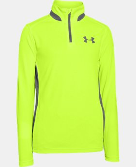 Boys' UA Fairway ¼ Zip  1 Color $37.99