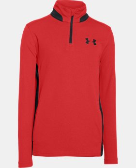Boys' UA Fairway ¼ Zip  1 Color $33.99