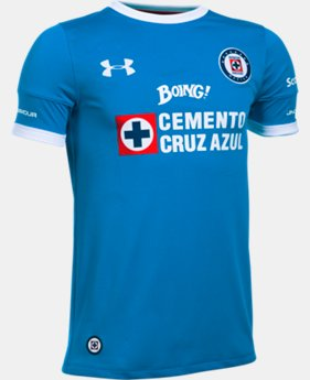 Kids' Cruz Azul 16/17 Home/Third Replica Jersey  1 Color $32.5