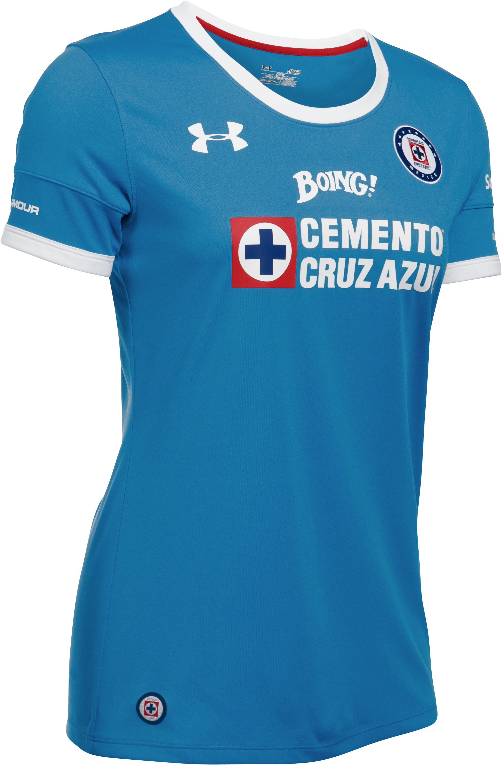Women's Cruz Azul Third Replica Home Jersey, Blue Taro,