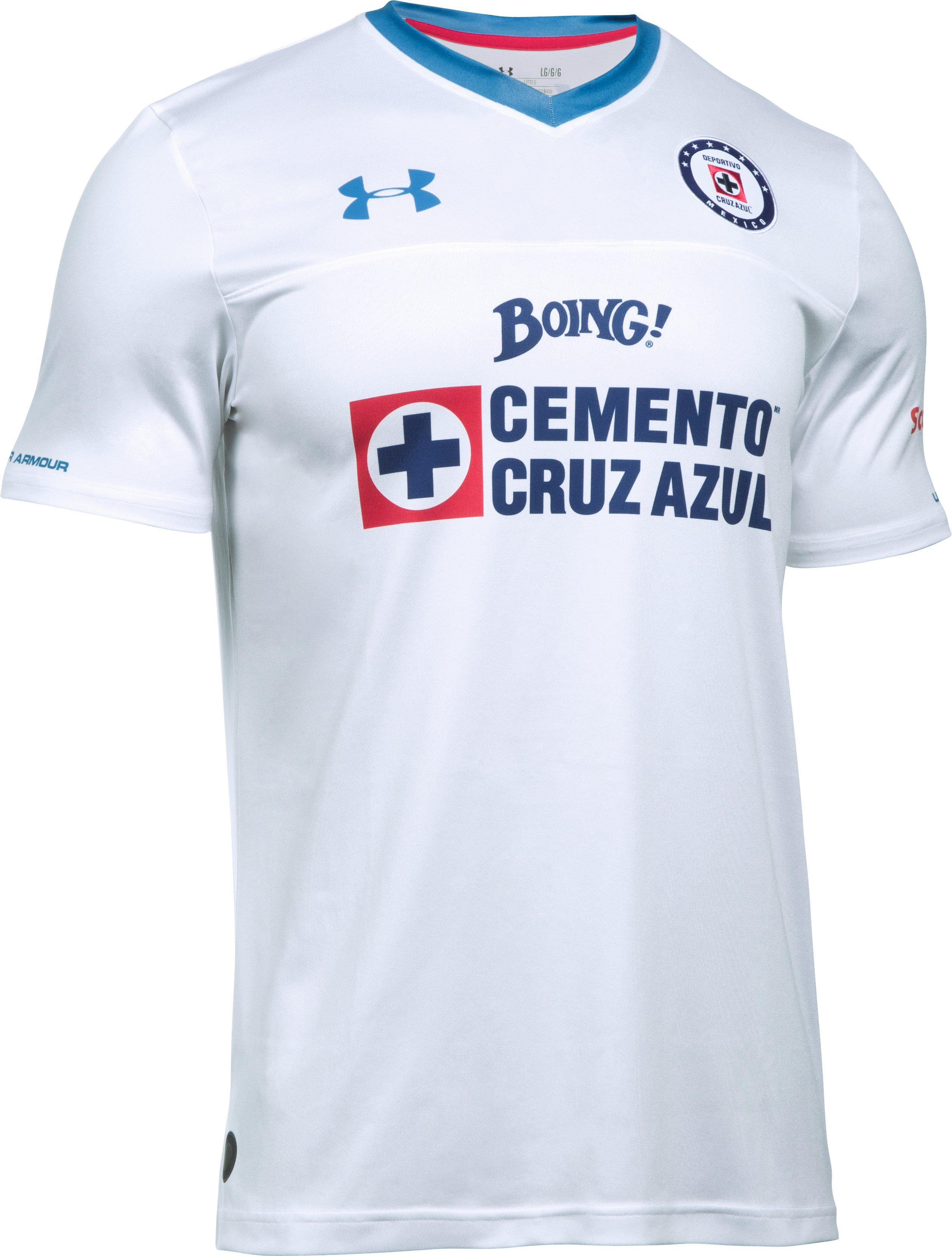 Men's Cruz Azul 16/17 Away Replica Jersey, White