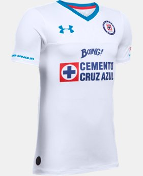 Kids' Cruz Azul 16/17 Away Replica Jersey   $65