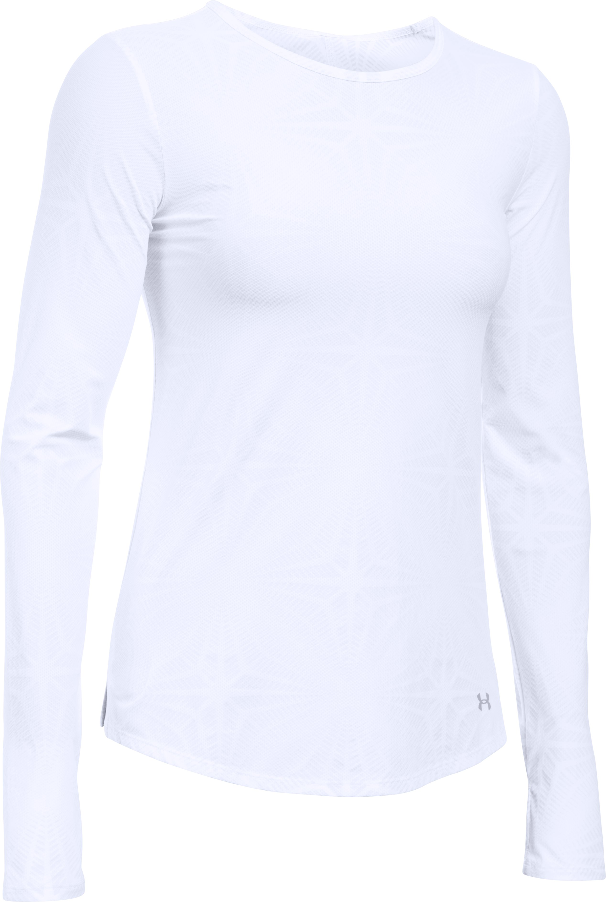 Women's UA CoolSwitch Run Long Sleeve, White