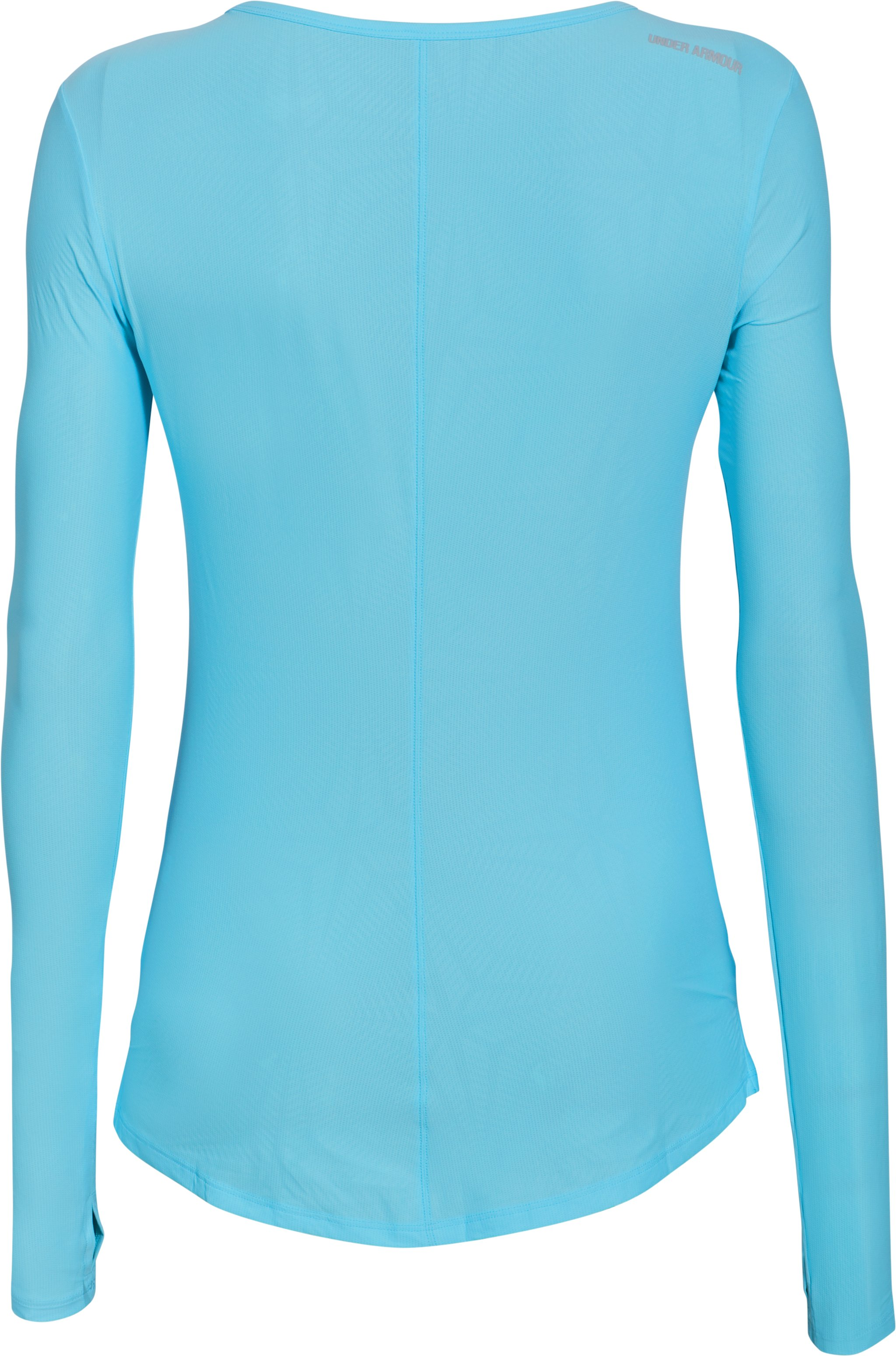 Women's UA CoolSwitch Run Long Sleeve, SKY BLUE,