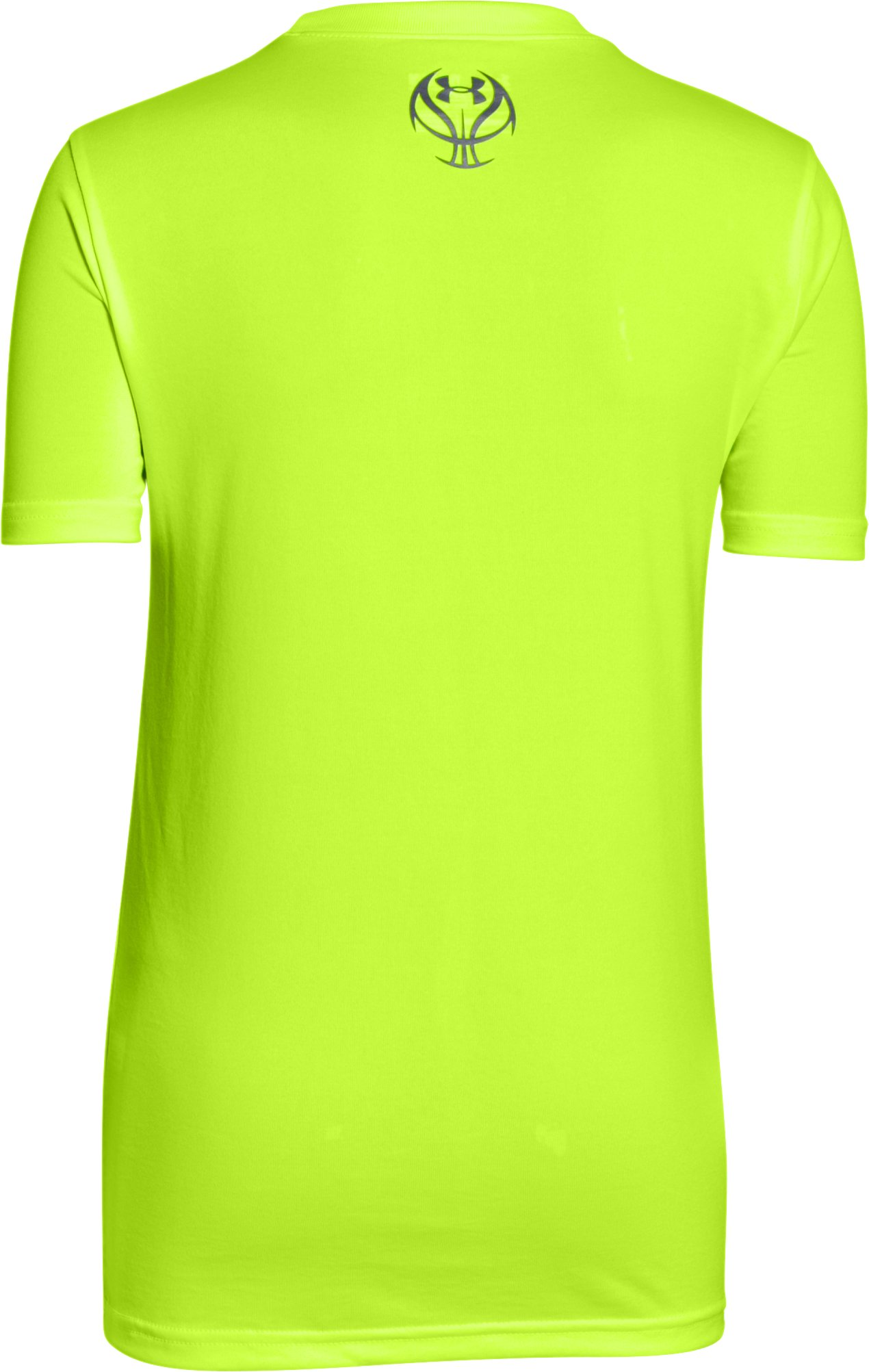 Boys' UA Baseline T-Shirt, FUEL GREEN,