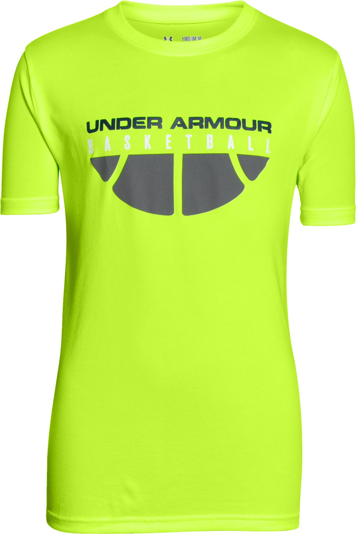 Boys' UA Baseline T-Shirt, FUEL GREEN