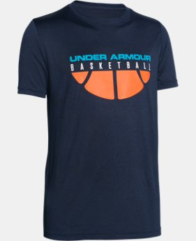 Boys' UA Baseline T-Shirt LIMITED TIME: FREE SHIPPING  $14.99