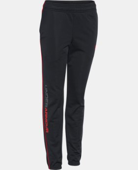 Boys' UA Contender Tapered Warm-Up Pants