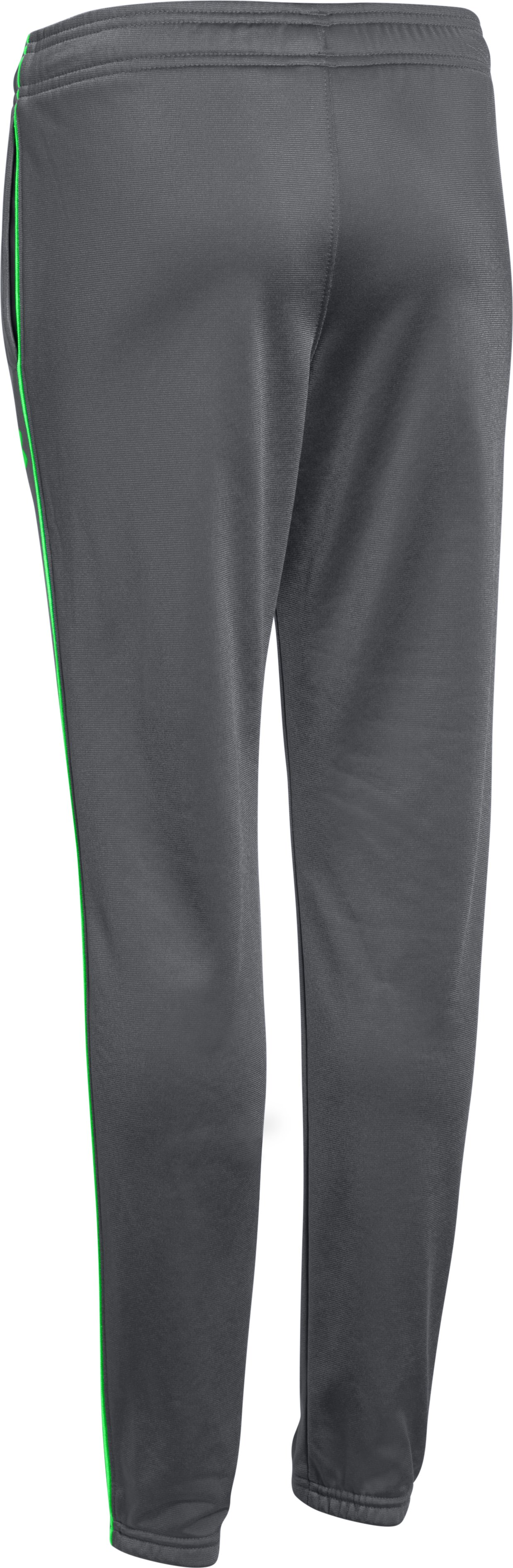 Boys' UA Contender Tapered Warm-Up Pants, Graphite